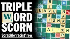 Racist Scrabble nigger n word